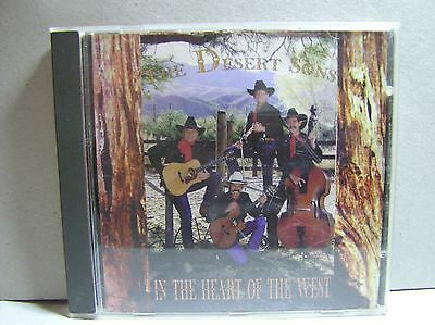 InThe Heart of The West/The Desert Sons /Music CD/Tucson, AZ. Music West Ent..46
