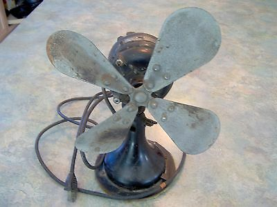 Antique Westinghouse Electric Fan Style 241853A, PA USA Serial 1267914, WORKS