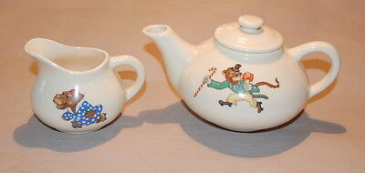 Edwin Knowles childs partial tea set with animals
