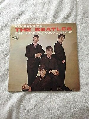 Introducing The Beatles Version 1 Mono Love Me Do PS I Love You