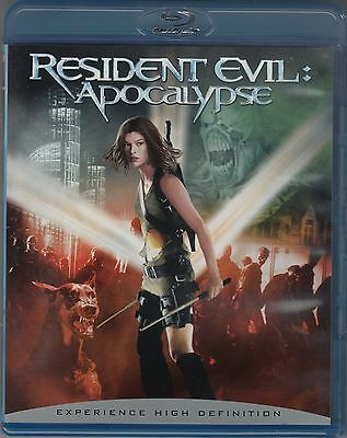 """RESIDENT EVIL: APOCALYPSE"" 2004 BLU-RAY EXPERIENCE HIGH DEFINITION"