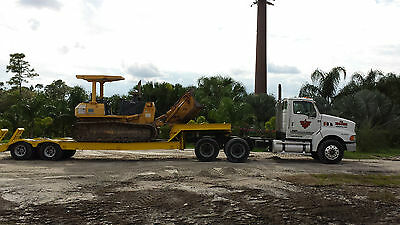 Sterling TA9500 With Hyster Lowboy trailer