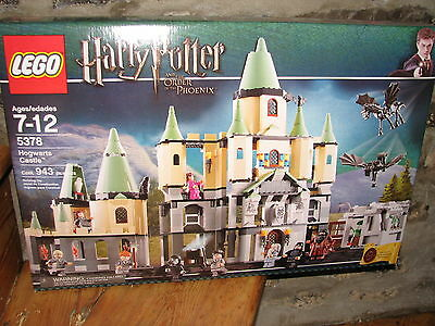 BRAND NEW LEGO HARRY POTTER 5378 HOGWARTS CASTLE DISCONTINUED