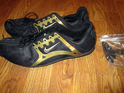new NIKE Bowerman Zm Air track and field spikes shoes men's 13 M running rare