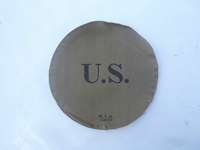 Mint NOS Dated 1909 US Army Canteen Cover by Rock Island Arsenal