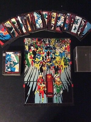 Doomsday: Death of Superman Complete Comic Card Set Skybox DC 1992