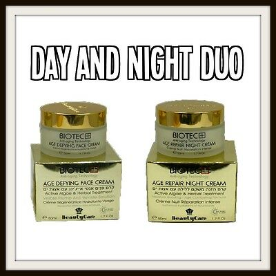 New Age Control Day And Night Facial Cream Anti-Aging Wrinkle Treatment 2 x 50ml