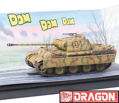 Dragon Armor 1/72 Scale WWII German Black Knight Panther G Early Tank 60412