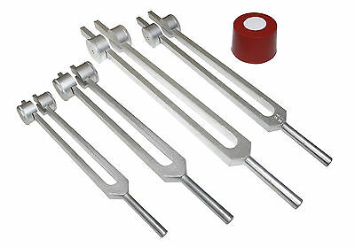 4pc set-3 Otto Tuners +1 Ohm Tuning fork +Activator + Pouches