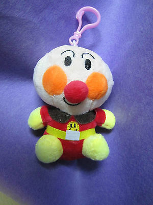 new lovely ANPANMAN SOFT SMILE backpack stuffed plush toy key chain Ca le9 05