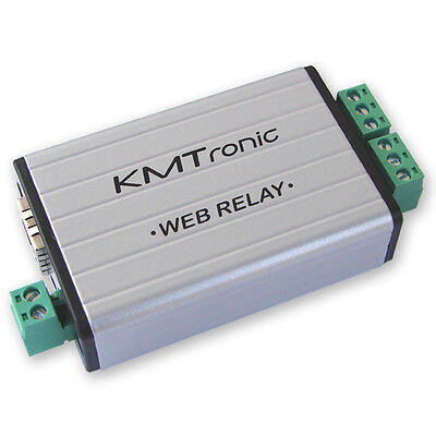 KMTronic LAN Ethernet IP 2 channels WEB Relay board BOX