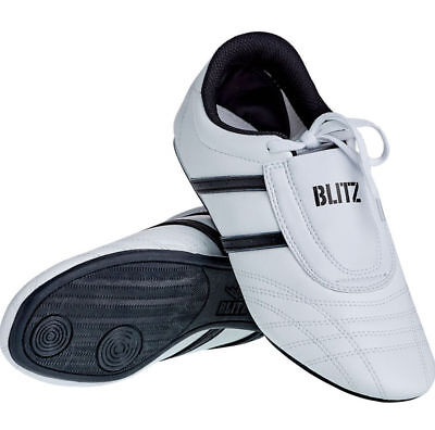 Blitz Adult Martial Arts Training Shoes White Black