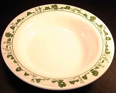 Syracuse China Restaurant Ware Golf Club Scene Bowl 1998
