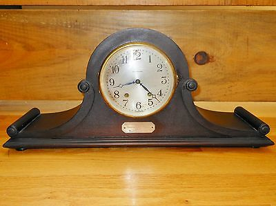 1925 Seth Thomas Mantle Clock Wolfert's Roost Country Club Antique Golf Trophy