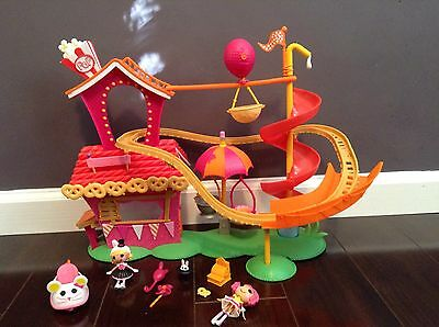 Complete Mini Lalaloopsy Funhouse Silly Fun House