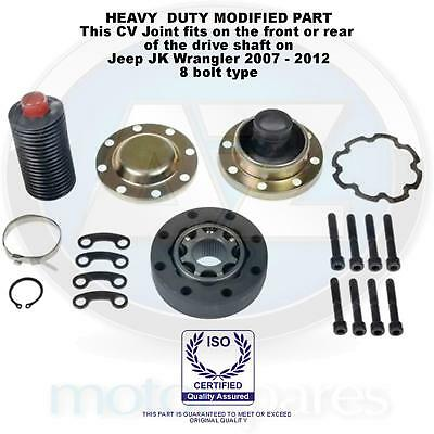 Jeep Wrangler JK Front or Rear propshaft CV Joint Kit complete 8 bolt 2007-2012