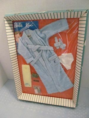 Vintage 1960s Barbie doll family KEN TERRY TOGS OUTFIT #784 NRFB