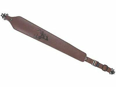 NEW! Allen Cobra Leather Sling with Swivel, Brown, Model# 8145