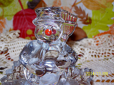 Frosty the Snowman wind up musical box