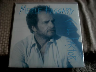 MERLE HAGGARD  LP  CHILL FACTOR    EPIC