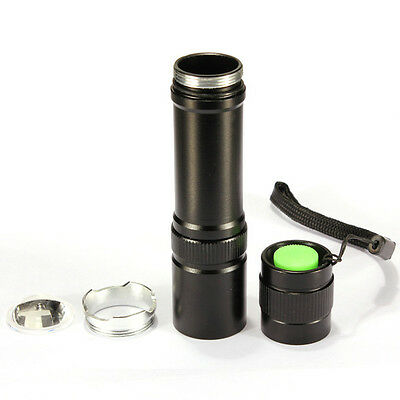 UltraFire 12W CREE Q5 1200Lm LED Zoomable Mini Flashlight Torch Lamp 18650