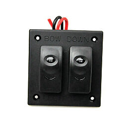 Lectro Tab replacement Rocker  Switch panel Dual