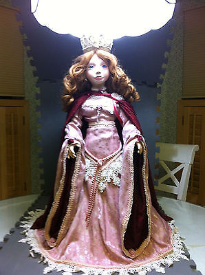 """Patricia Loveless   Designer Guild Collection """"Lady Ophelia """" 26""""Porcelain Doll"""
