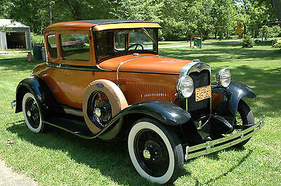 Ford : Model A See photos Beautifully restored 1931 Ford Model A  Parade ready