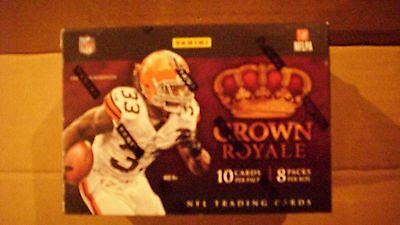 2012 PANINI CROWN ROYALE FACTORY SEALED FOOTBALL 8-Pack Box*LUCK-WILSON-RG111*