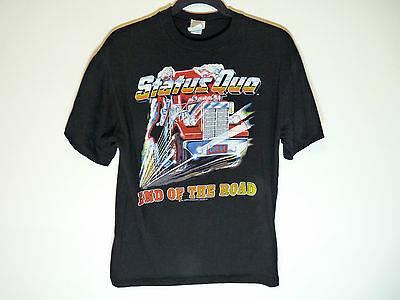 Status Quo t-shirt End of the Road vintage 1984 1980s rock band - Large medium