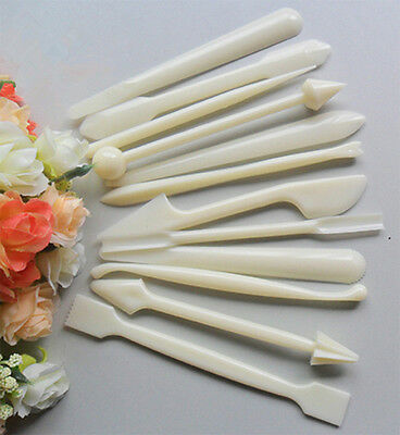 12p Fondant Cake Decorating Flower Modelling Craft Clays Sugar craft Tool Cutter