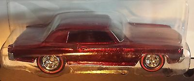 Hot Wheels 2009 Classics Series 5 '70 Monte Carlo Real Riders 1970 Chevy Red GM