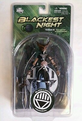 DC Direct Black Lantern Hawkgirl  Blackest Night Series 6 Action Figure