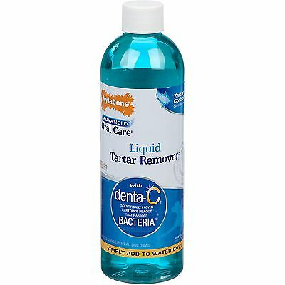 Nylabone Advanced Oral Care Liquid Tartar Remover For Dogs 16 fl oz,ALL SIZES