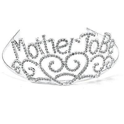 Mother To Be Tiara Baby Shower Mom Gift Crown Metal Hearts Expecting Mom