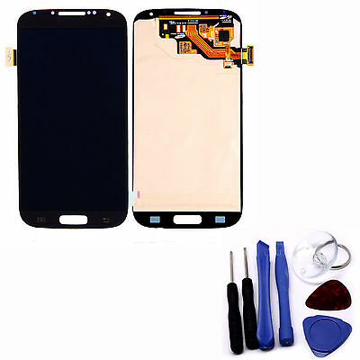 Front Touch Digitizer Screen LCD Assembly Fit for Samsung Galaxy S4 i9500 Black