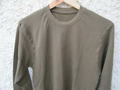 ISRAEL IDF ARMY : L, L/S, OLIVE DRAB T-SHIRT ! AUTH. BRAND NEW. UNIQUE. AMAZING.