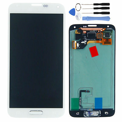 For Samsung Galaxy S5 i9600 G900 New Replacement LCD Screen Touch Digitizer WH
