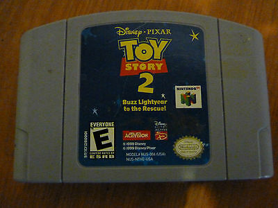 Nintendo 64 Video Game Toy Story 2 ! - Tested -