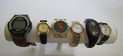 Lot of 6 Watches for Parts