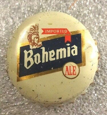Vintage IMPORTED Bohemia ALE Beer Bottle Cap - Cork Lined - Used - Free Shipping