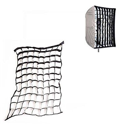 PhotR 22x90cm Fabric Honeycomb Egg Crate Grid Studio Flash Strip Softbox Beehive