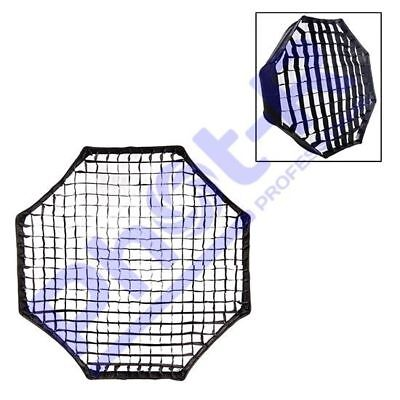 Phot-R 95cm Octagon Fabric Honeycomb Egg Crate Grid Photo Studio Flash Softbox
