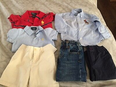 LOT of Baby Boy Ralph Lauren Clothing Size 18 to 24 Months