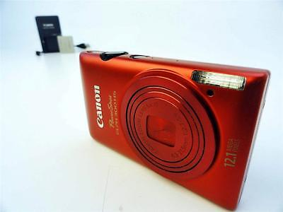 Canon PowerShot ELPH 300 HS Digital Camera- Red