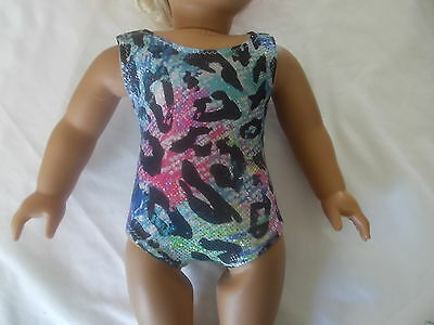 """18""""doll clothes one piece bathingsuit or leotards fits18 inch american girl"""