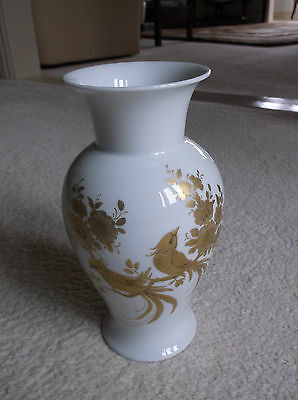 "Vintage AK Kaiser W Germany ""Melodie"" Vase / Designed by K Nossek / White / Gold"