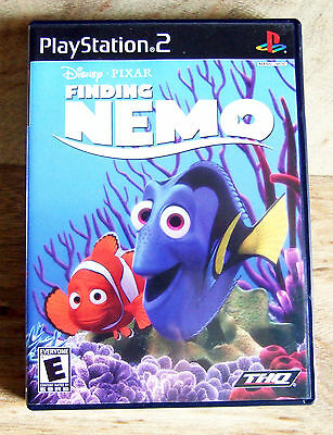 Finding Nemo  (Sony PlayStation 2, 2003) Video Game Case Manual