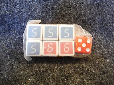 Parker Brothers Escape From The Death Star Replacement Dice Set