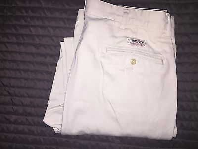 "Polo by Ralph Lauren Mens ""Andrew"" Light Khaki Chino 33x31 100% Authentic"